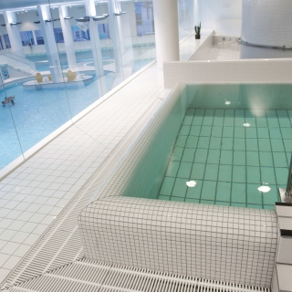 Moderne Wellness afdeling i Herning